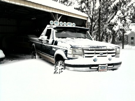 Ford F150 1996 snow