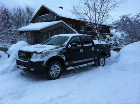 Ford F150 2006 snow 2009