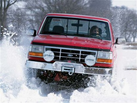 Ford F150 snow 342