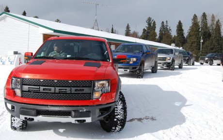 Ford F150 Raptor 5x winter