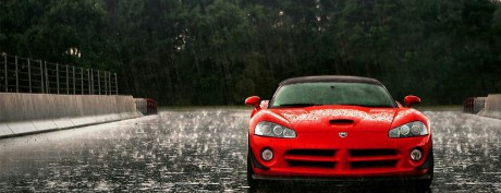 My Dodge Viper red