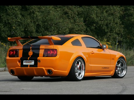 000 Ford Mustang 2007 12