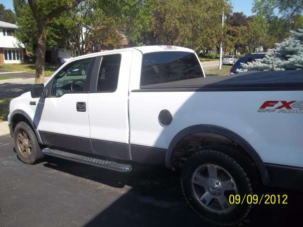 Ford F150 Super Cab 45